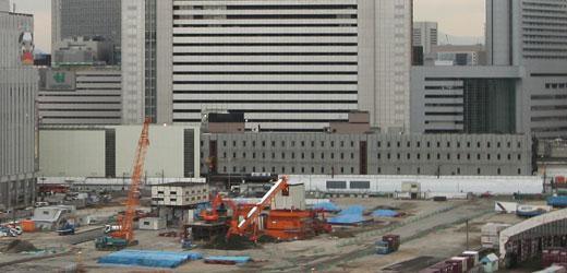 JR大阪駅 遠方から