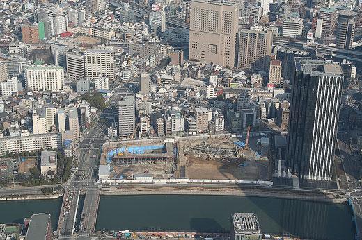 阪大病院跡地を再開発1