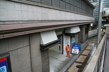 阪急百貨店の秘密通路8