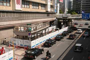 阪急百貨店前スロープ2