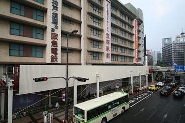 阪急ビル・西側バス停留所