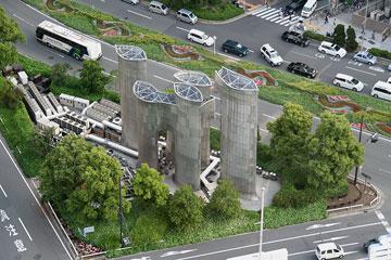 村野藤吾の排気塔