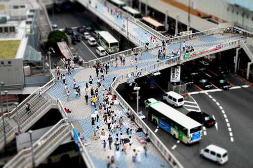 箱庭梅田(歩道橋)