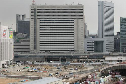 大阪駅北ビル遠景