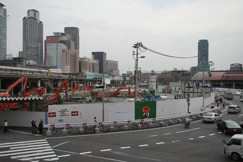 大阪駅解体中5