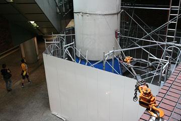 ロケット広場解体工事中2