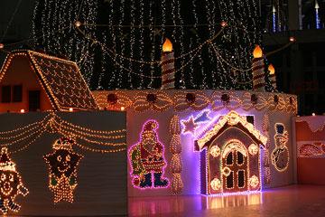 スカイビルのクリスマス2