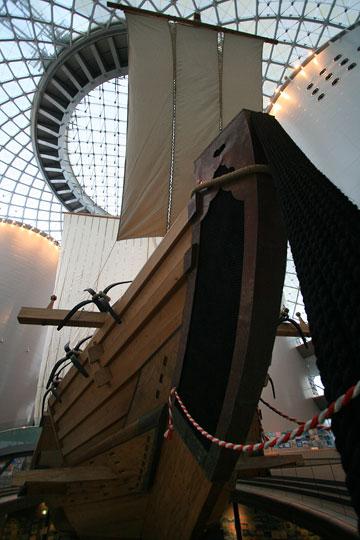 なにわの海と時空館菱垣廻船