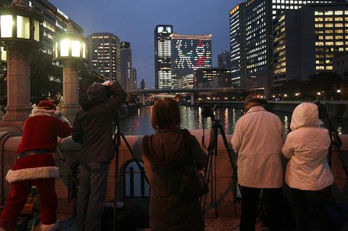 大江橋から土佐堀側