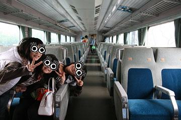 新幹線車内2