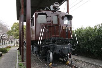古い電気機関車