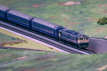 鉄道模型ブルートレイン