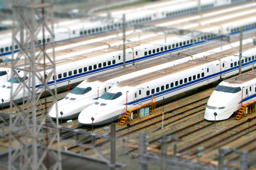 箱庭新幹線基地