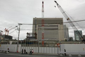 新北ビル建設現場