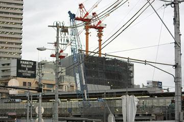 阪急百貨店建設現場
