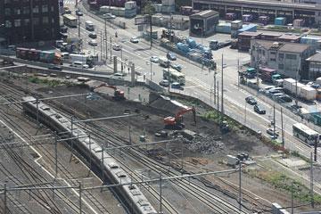 阪神高速出入口付近