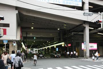 北ヤード−新御堂筋 新道路3
