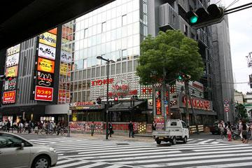 北ヤード−新御堂筋 新道路4