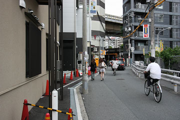 北ヤード−新御堂筋 新道路6