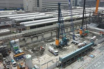 大阪駅新北ビル東端