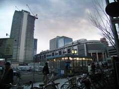 JR難波駅周辺の再開発