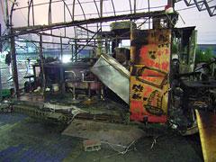 スカイビル前の屋台が全焼2