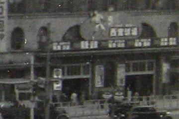 阪急梅田の西宮球場広告