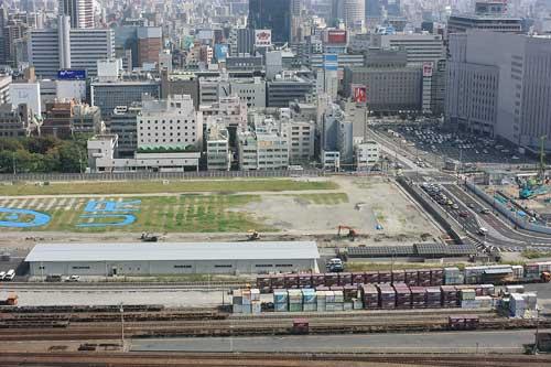 梅田北ヤード 中央