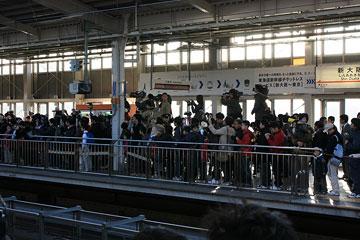 新大阪駅0系新幹線ラスト定期運転2