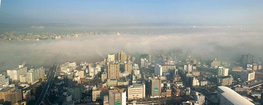 濃霧 十三・豊中方面