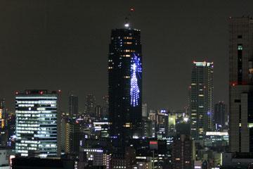 The Kitahama(北浜タワー)イルミ2