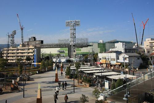 甲子園球場200901-h