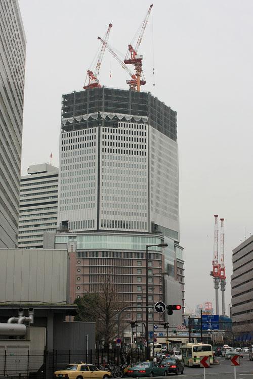 梅田阪急ビル 西から