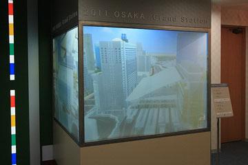 2011年大阪駅の模型c