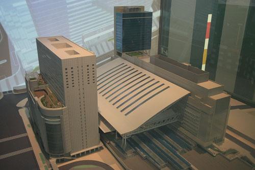 2011年大阪駅の模型e