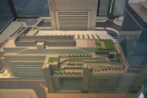 2011年大阪駅の模型f