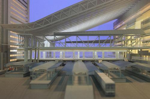 2011年大阪駅の模型i