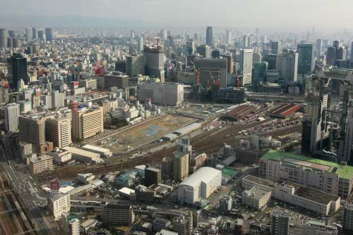 梅田北ヤード2009年2月