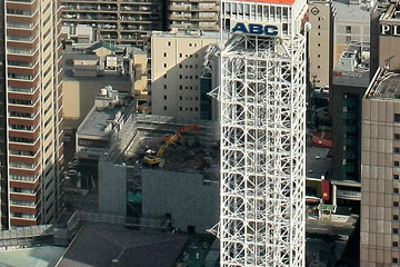 朝日放送旧社屋+大阪タワー2