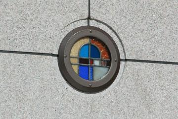 阪急百貨店ステンドグラス2