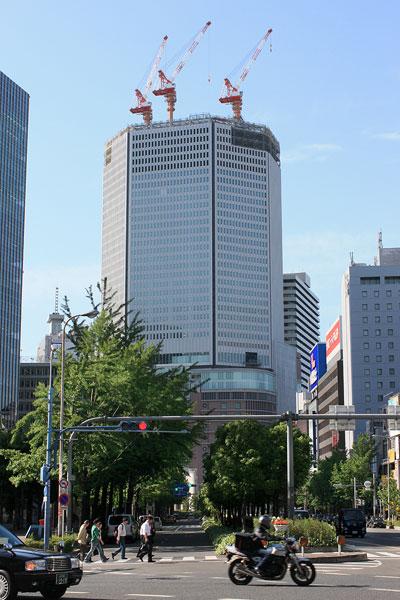 梅新から阪急百貨店200905