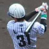 ストライプ+31番。萩原誠じゃないよ。