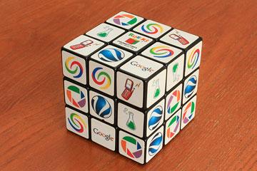 Googleのルービックキューブ