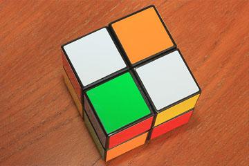 2×2×2ルービックキューブ2