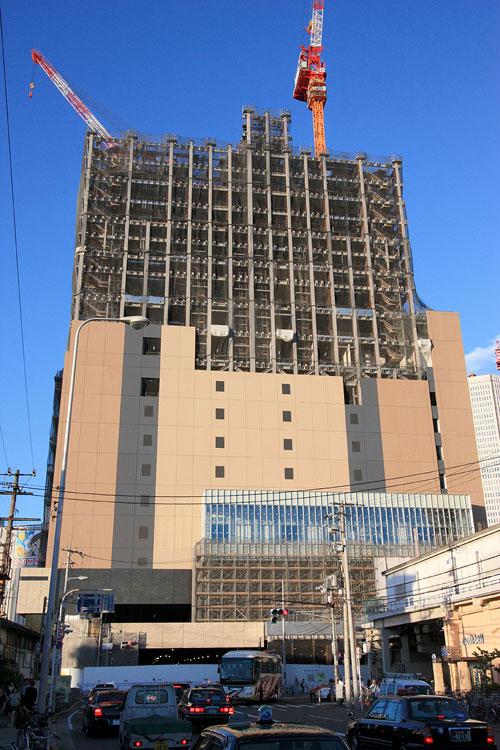 大阪駅新北ビルを西から2009年7月