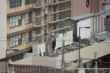2009年阪急百貨店 解体準備b