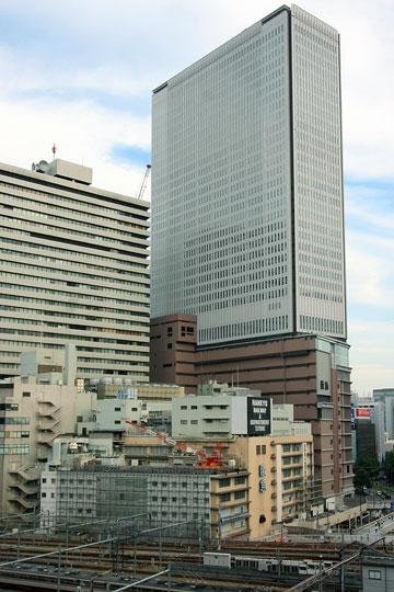 2009年阪急百貨店 解体準備a