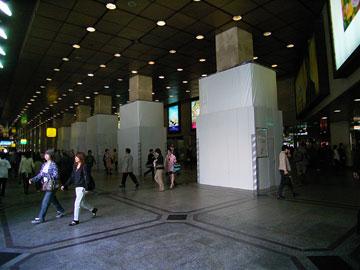 阪急百貨店準備工事1
