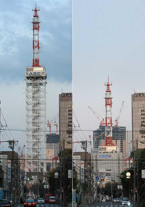 大阪タワーBefore&After 20091107
