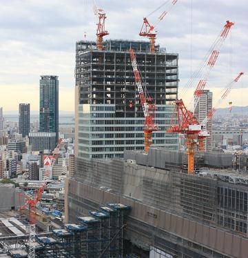 2009年11月_阪急グランドビルから大淀